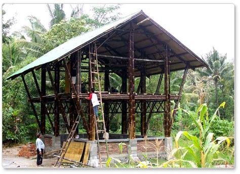 design interior rumah bambu desain rumah bambu