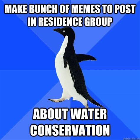 Water Meme - water conservation cartoons memes
