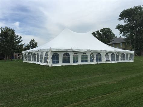 backyard tent wedding reception backyard wedding reception under a tent in kalona iowa