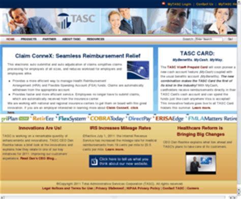 section 105 hra tasconline com tasc total administrative services