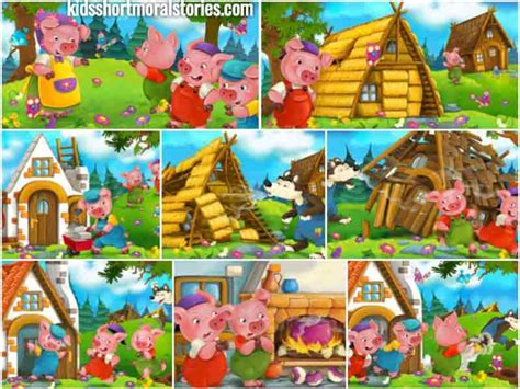 the three pigs story with moral inspirational