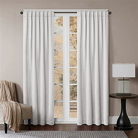 white backed curtains buy princeton 108 inch rod pocket back tab window curtain