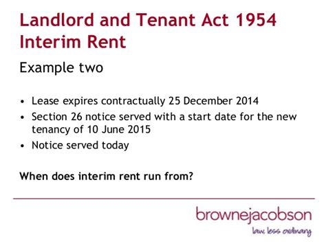 section 27 notice landlord and tenant act property managers association event november 2014