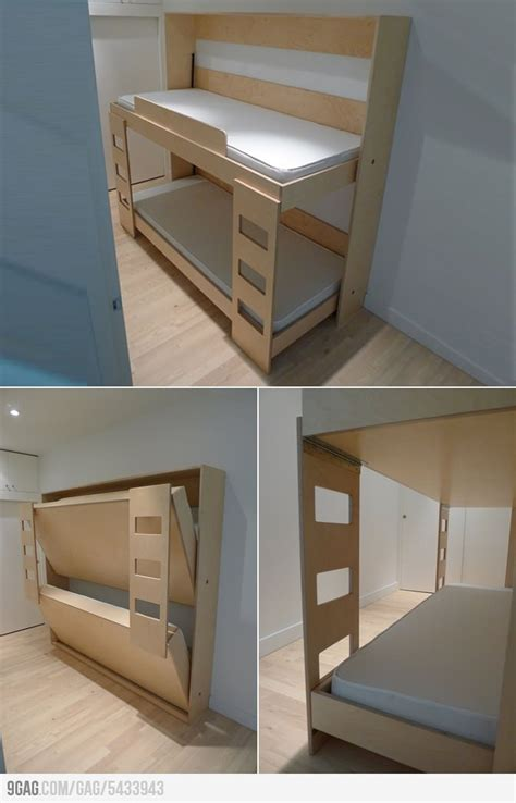 folding bunk bed dumbo folding bunk bed kids pinterest