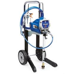 Airless Spray Painting - graco magnum x7 airless paint sprayer 262805 the home depot