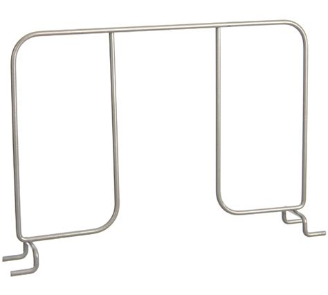 shelf dividers wire closet shelving