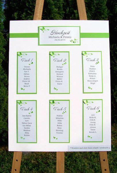 Hochzeit Tischplan by Hochzeit On