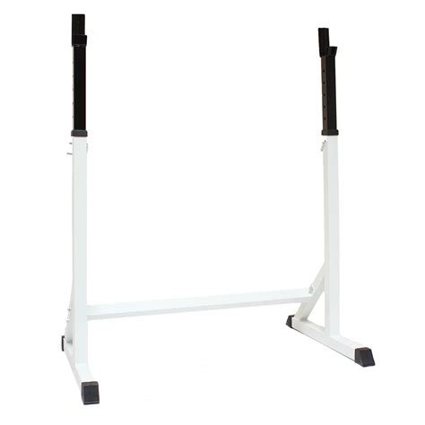 Barbell Rack Stand by Max Fitness 7ft Squat Stand Barbell Weights Spotters