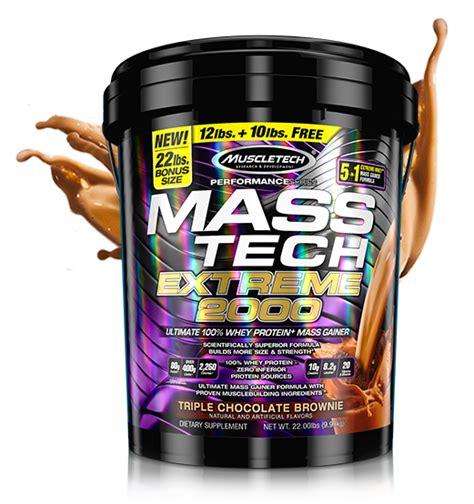 Promo Muscletech Mass Tech 2000 22lbs Gainer muscletech mass tech 2000 at bodybuilding