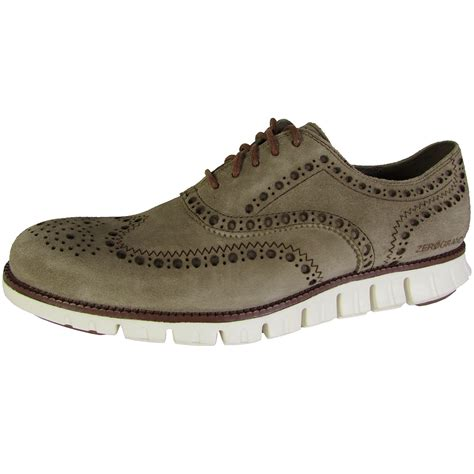 cole haan wingtip oxford shoes cole haan zerogrand wingtip casual oxford shoe ebay