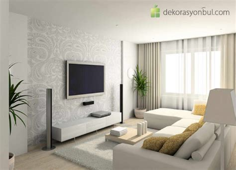 Ev Dekorlari by Beyaz Ev Dekorasyonu Dekorasyon Bul