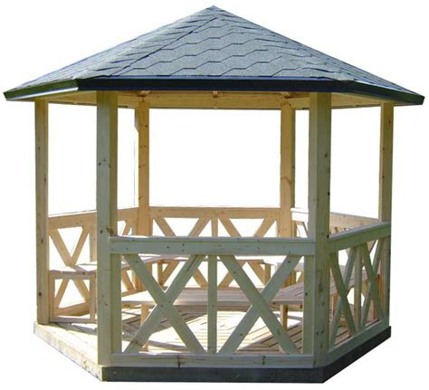 kiosque bois jardin kiosque en bois