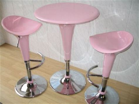 Pink Kitchen Stools by The Sunflower House Pink Kitchen Part 2