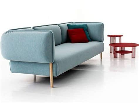 patricia urquiola sofa uniform melange colour ice on love me tender sofa by