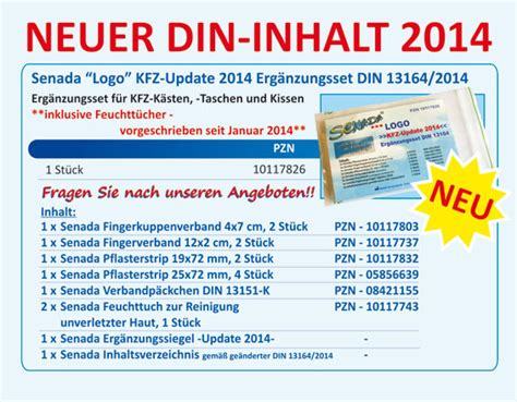 Kfz Verbandskasten Lange Haltbar by Apotheke Plauen Kurt Mothes Apotheke Aktuelles News