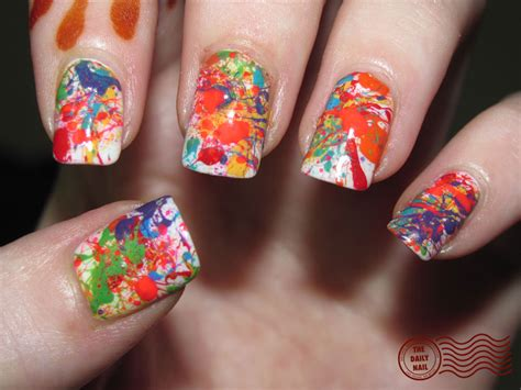 easy nail designs to do at home formidable pretty design