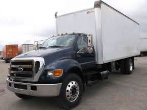 ford f 750 2006 box trucks