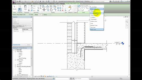 tutorial of revit architecture 2011 revit architecture 2011 tutorial creating detail lines