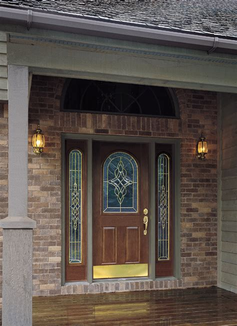 decorative glass door sidelights front door sidelight side door panels fixed operable