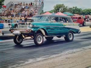 1957 chevy 210 gasser