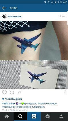 tattoo on wrist flight attendant airplane silhouette stencil 타투 pinterest tattoo and