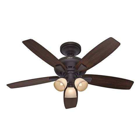 ceiling fans with lights at lowes shop 52 in winslow new bronze ceiling fan with light kit at lowes