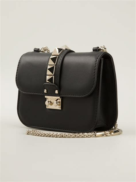 Which It Bag Are You 3 by Lyst Valentino Medium Rockstud Shoulder Bag In Black