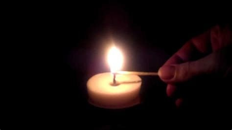 beautiful candles beautiful candle burning hidef one minute silence hd