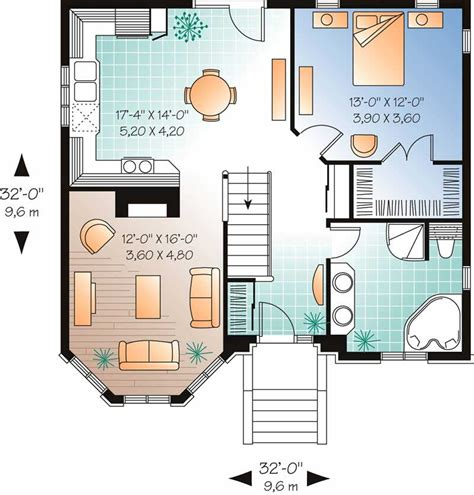 floor plan for a 940 sq ft ranch style home ranch contemporary home with 1 bedroom 940 sq ft