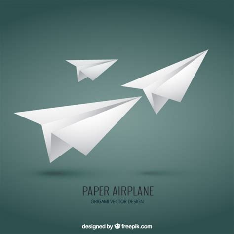 Aeroplane With Paper - paper airplane vector premium