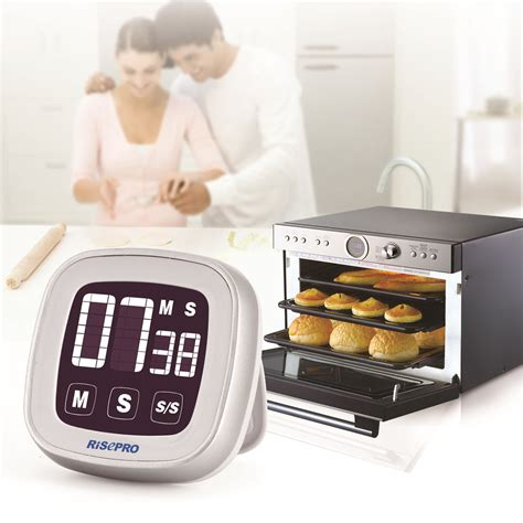 Kitchen Alarm Clock lcd digital touch screen kitchen timer practical cooking