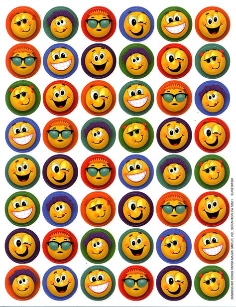 Emoticon Sticker emoticons mini school stickers eureka school