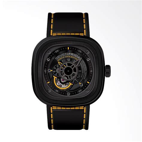 Baru Jam Tangan Pria Seven Friday Sv04 Black Plat Black Arloji Seven jual seven friday s voice p series jam tangan pria
