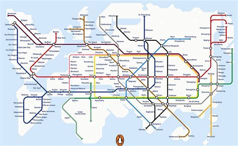 subway system map the evolving underground map