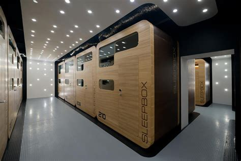 Tiny Bathrooms plug in capsule hotel gives new life to vacant building in