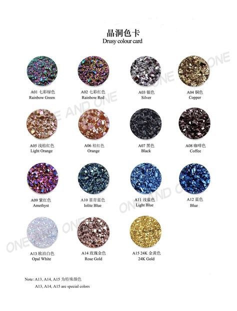 different types stones rings wholesale druzy rings