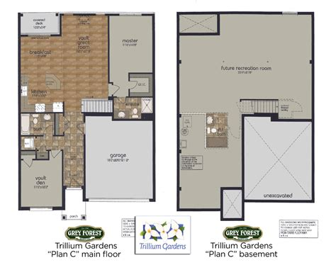 trillium floor plan trillium gardens floor plans quot we don t just build