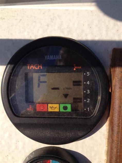 buitenboordmotor kollum tachometer varvr 228 knare yamaha motorb 229 tsnack maringuiden