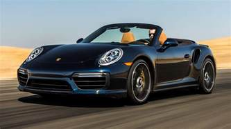Porsche 911 Turbo S Cabriolet Porsche 911 Turbo S Cabriolet 2017 Us Wallpapers And Hd