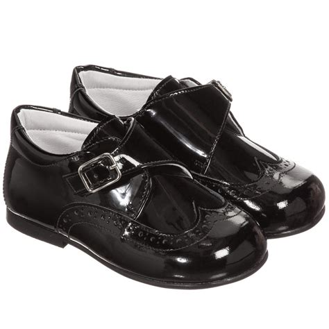 Patent Leather by Children S Classics Boys Black Patent Leather Shoes