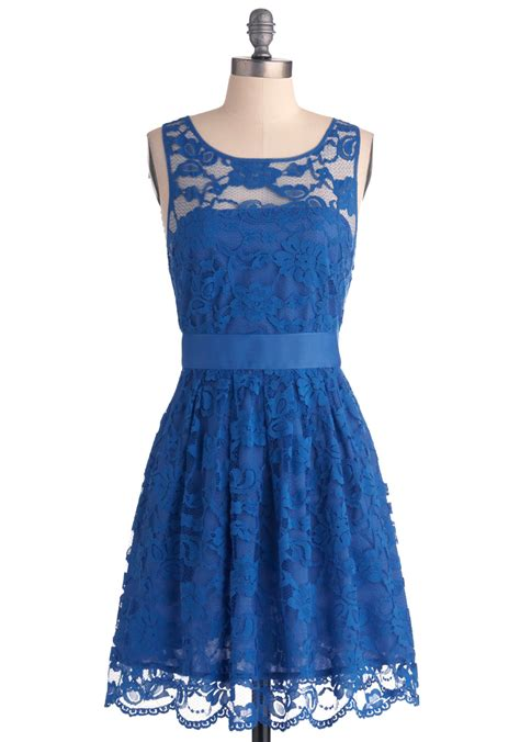 Dress Blues blue lace dress dressed up