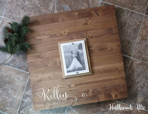 picture frame alternatives 51 best wedding guest book alternative wood signs by