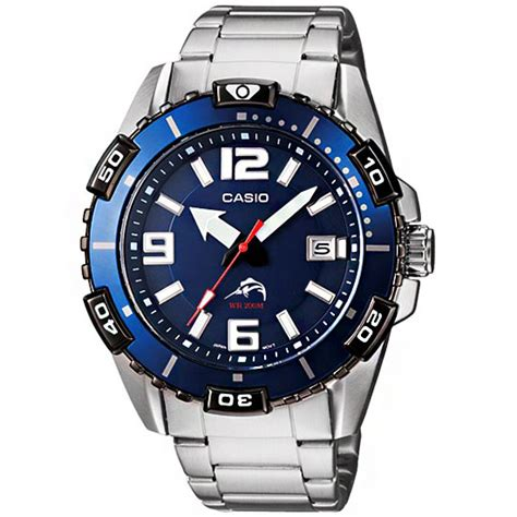 Casio DURO Mens Scuba Diver Sports Watch MDV 105D 2AV MDV105D