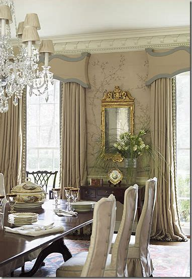Traditional Dining Room Drapes Classical Window Treatments 2016 Classical Addiction