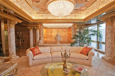 Donald Trump Pent House | inside donald trump s manhattan apartment mansion
