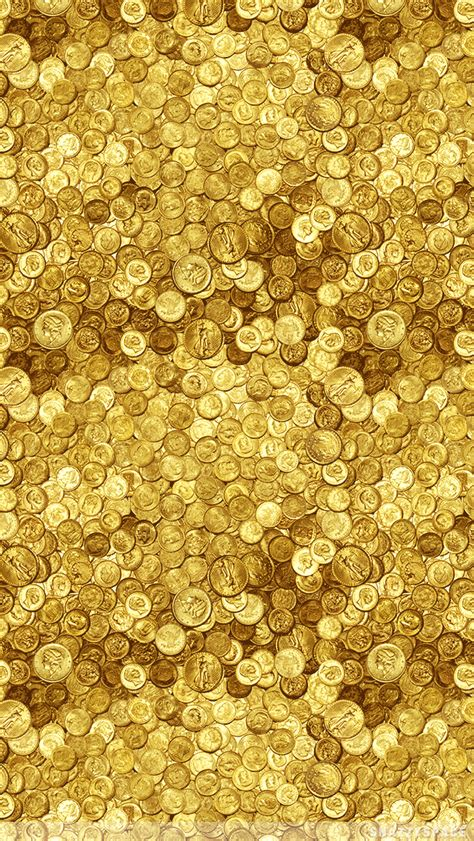 wallpaper gold iphone 4 gold coins iphone wallpaper