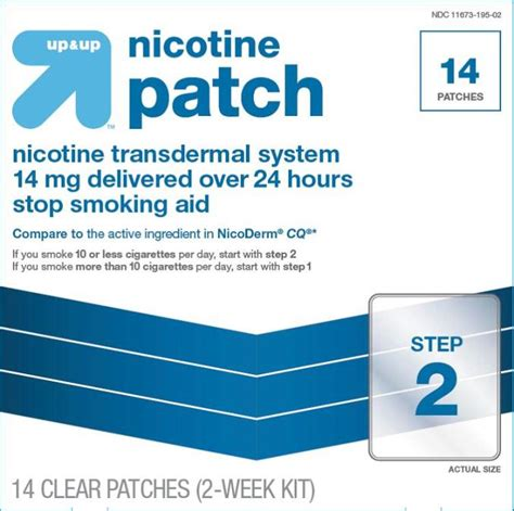 Detox Nicotine In 24 Hours by Nicotine Transdermal System Target Corporation Fda