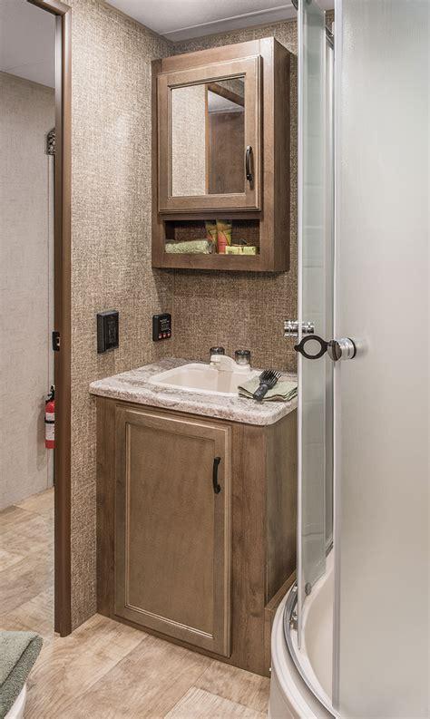 travel trailer bathroom sinks connect c332bhk lightweight travel trailer k z rv