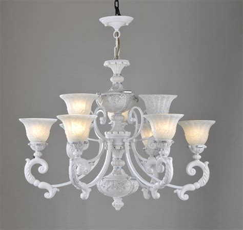 chandeliers white wholesale 3 light white with silver metal antique chandeliers