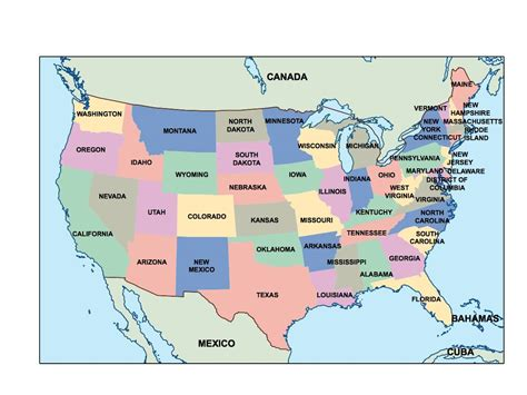 powerpoint map of usa america ppt powerpoint maps open office